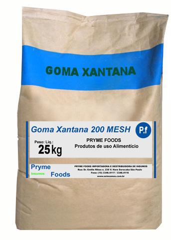 Goma Xantana 200 MESH  25Kg