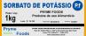 SORBATO DE POTASSIO Granulado 1Kg Quilo Produtos para Alimentos