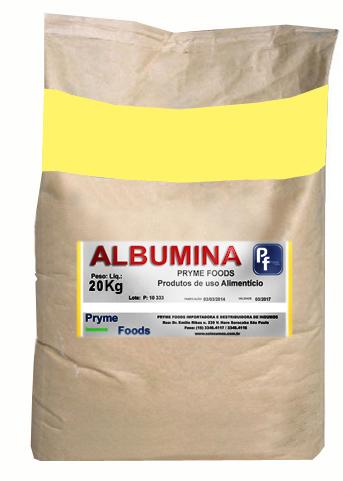 Albumina 20 Kg  PURA Albumina da clara do ovo Suplemento Alimentar