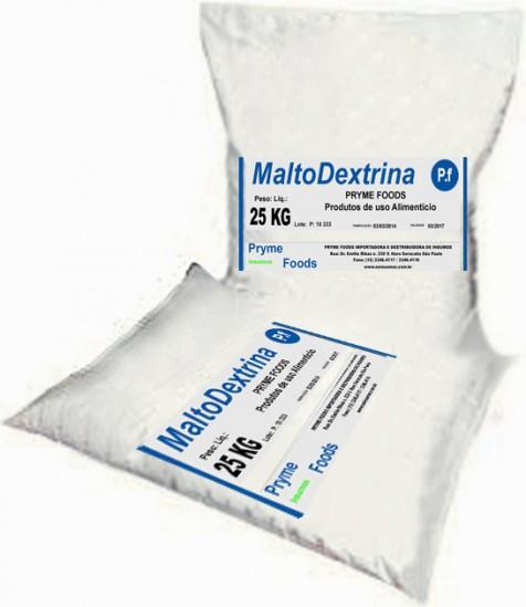 Malto Dextrina 25 Kg Quilo PURA Insumos Produtos para alimentos.