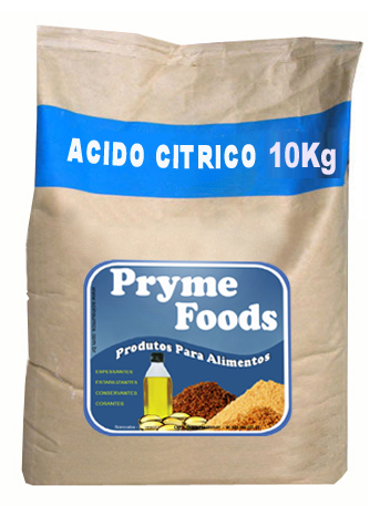 ACIDO CITRICO Anidro 10Kg Quilo  produto para alimentos Materia Prima Alimentar