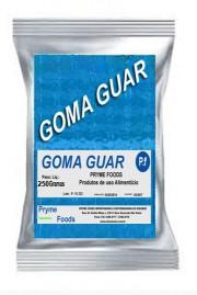 GOMA GUAR 5000 com 250 Gramas Insumos Para Alimentos Fracionados por Quilos e Gramas