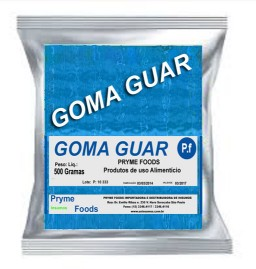 GOMA GUAR 500 Gramas Insumos Para Alimentos Fracionados por Quilos e Gramas
