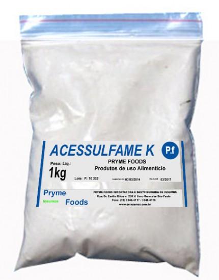 ACESSULFAME  K 1 kg Quilo Materia Prima Insumos para alimentos fracionados por Kg ou Gramas
