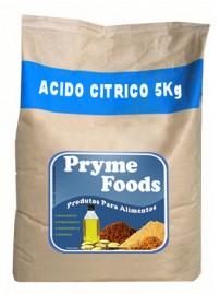 ACIDO CITRICO Anidro 5Kg Quilo  produto para alimentos Materia Prima Alimentar