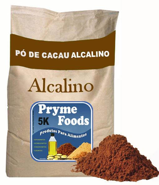 CACAU EM PÓ ALCALINO 5kg Po de Cacau Alcalino 5 Quilos