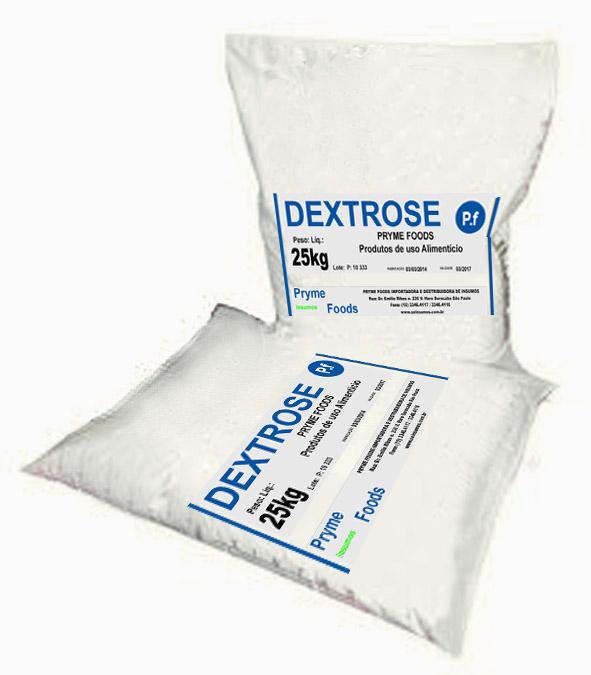 Dextrose 25 kg SUPLEMENTOS ALIMENTAR Insumos Produtos para alimentos fracionados