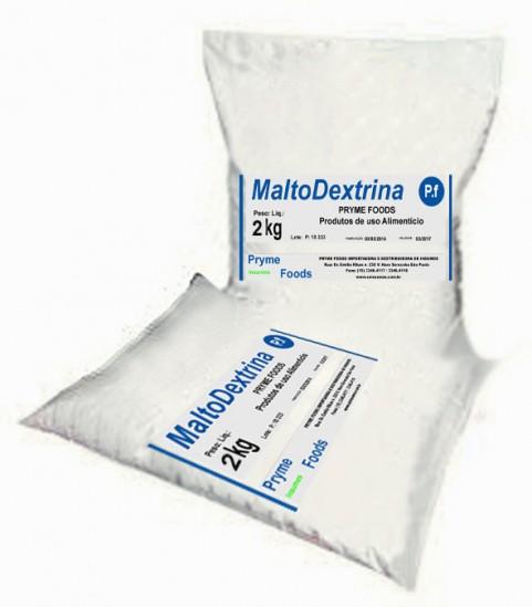 MALTODEXTRINA Pura 2Kg Suplemento Alimentar Materia Prima