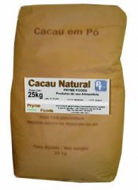 CACAU EM PO NATURAL 25 KG Quilo Materia Prima Cacau em po Natural