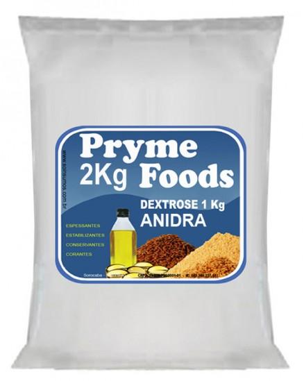 DEXTROSE ANIDRA 2Kg Produtos para alimentos