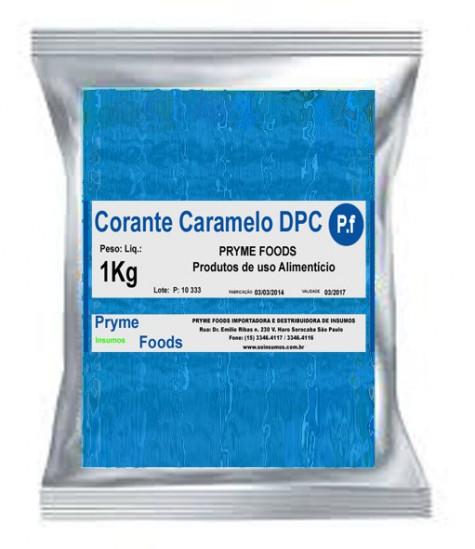 CORANTE CARAMELO em Po DPC 1 kg Quilo Insumos para alimentos fracionados por Kg ou Gramas