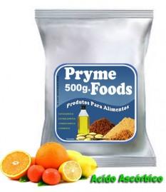 ACIDO ASCORBICO EM PO 500 Gramas Materia prima Produtos para alimentos Vitamina C