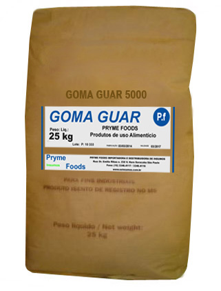 GOMA GUAR 5000 25 Kg Quilo