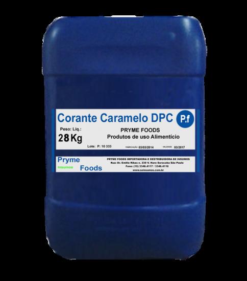 CORANTE CARAMELO III LIQUIDO DPC 28 Kg Quilo Insumos para alimentos fracionados por Kg ou Gramas