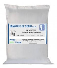 BENZOATO DE SODIO Po 1 Kg Categoria Conservantes Produtos para alimentos