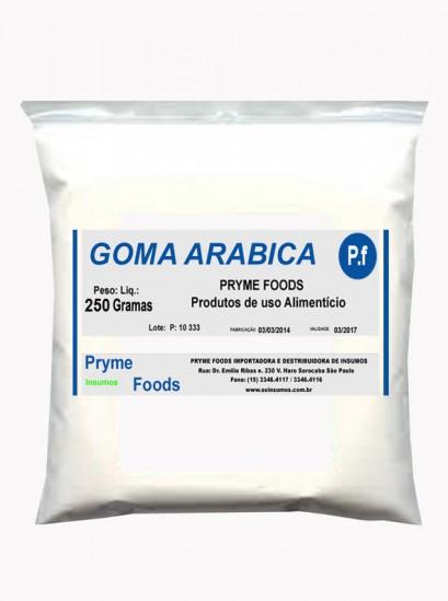 Goma Arabica 250 Gramas Insumos Para Alimentos Fracionados por Quilos e Gramas