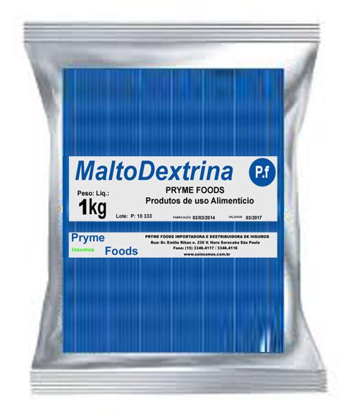 MALTODEXTRINA 1 Kg Quilo Materia prima PURA Suplemento Alimentar