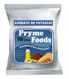 SORBATO DE POTASSIO Granulado 500 gramas Produtos para Alimentos