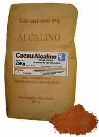 CACAU EM PO ALCALINO 25 KG Quilo Materia Prima Cacau em po Alcalino