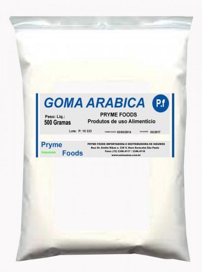 Goma Arabica 500 Gramas Insumos Para Alimentos Fracionados por Quilos e Gramas