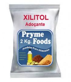 XILITOL  adoçante natural 2 Kg Materia prima produtos para alimentos