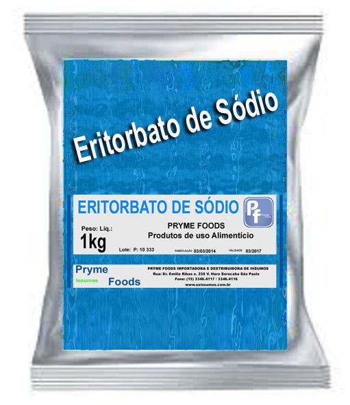 ERITORBATO DE SODIO 1 kg Produtos para alimentos