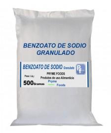 BENZOATO DE SODIO GRANULADO 500 Gramas Conservante bactericida e fungicida