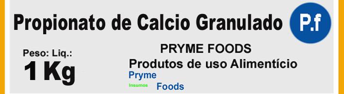PROPIONATO DE CÁLCIO 1 Kg quilo Categoria Conservantes Produtos para Alimentos