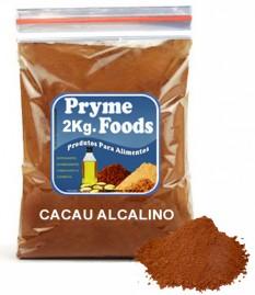 CACAU EM PO ALCALINO 2kg Po de Cacau Alcalino 2 Quilos