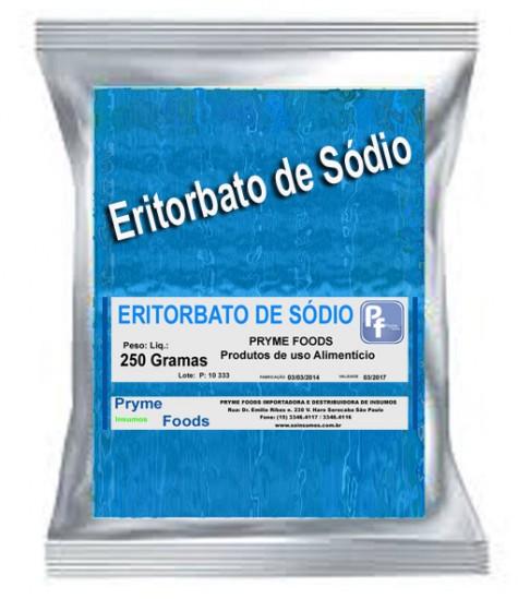 ERITORBATO DE SODIO 250 GRAMAS Produtos para alimentos