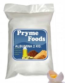 ALBUMINA 2 Kg. Pura Albumina proteina da clara do ovo