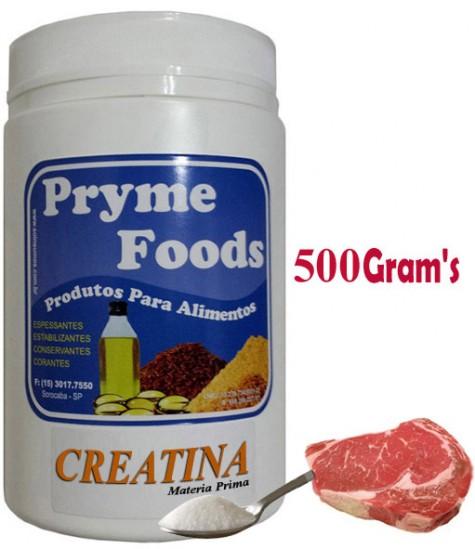 CREATINA Pura 500 Gramas Pote Suplemento Alimentar Creatina Pura